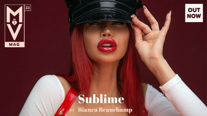 ManyVids zeigt Bianca Beauchamp in MV Mag 25: 'Sublime'.